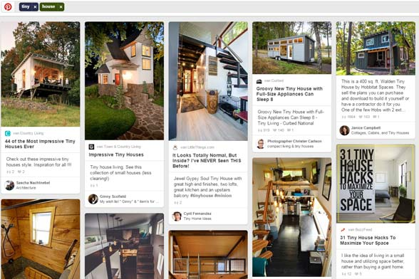 Tiny houses op Pinterest